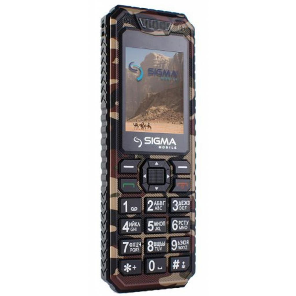 Мобильный телефон Sigma X-style 11 Dual Sim Coffee Camouflage (4827798327234) изображение 4