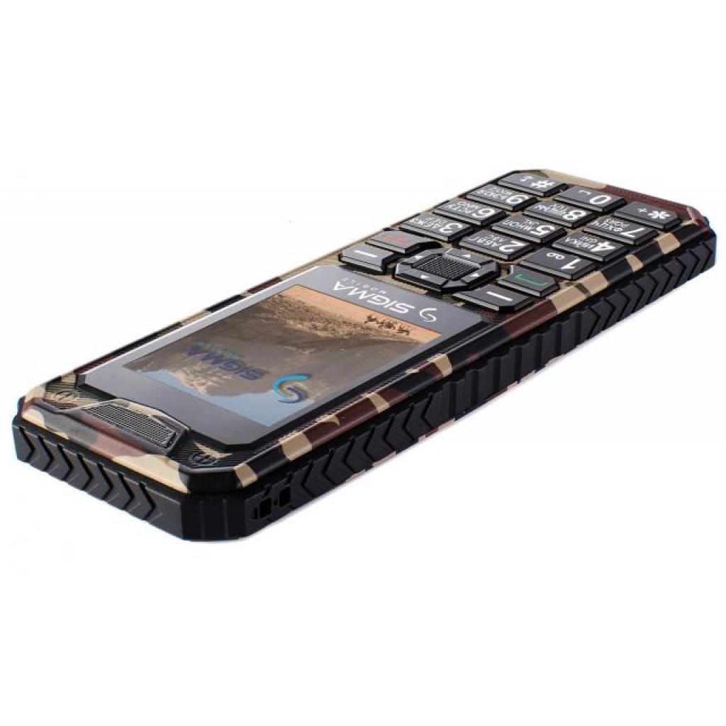 Мобильный телефон Sigma X-style 11 Dual Sim Coffee Camouflage (4827798327234) изображение 5