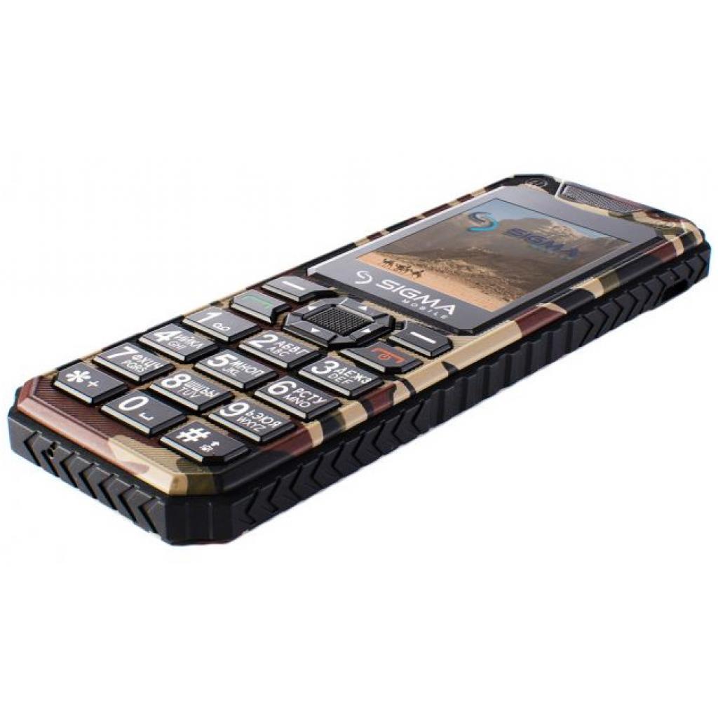 Мобильный телефон Sigma X-style 11 Dual Sim Coffee Camouflage (4827798327234) изображение 6