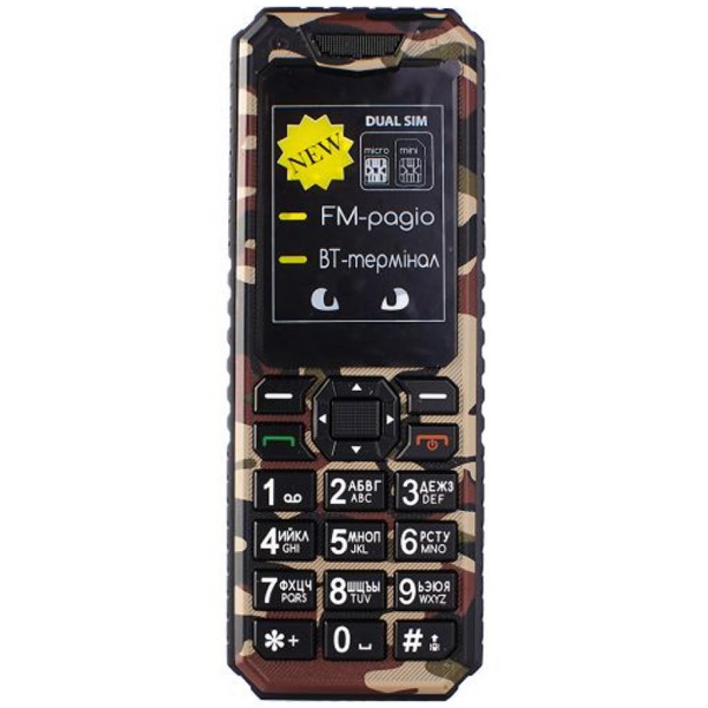 Мобильный телефон Sigma X-style 11 Dual Sim Coffee Camouflage (4827798327234)