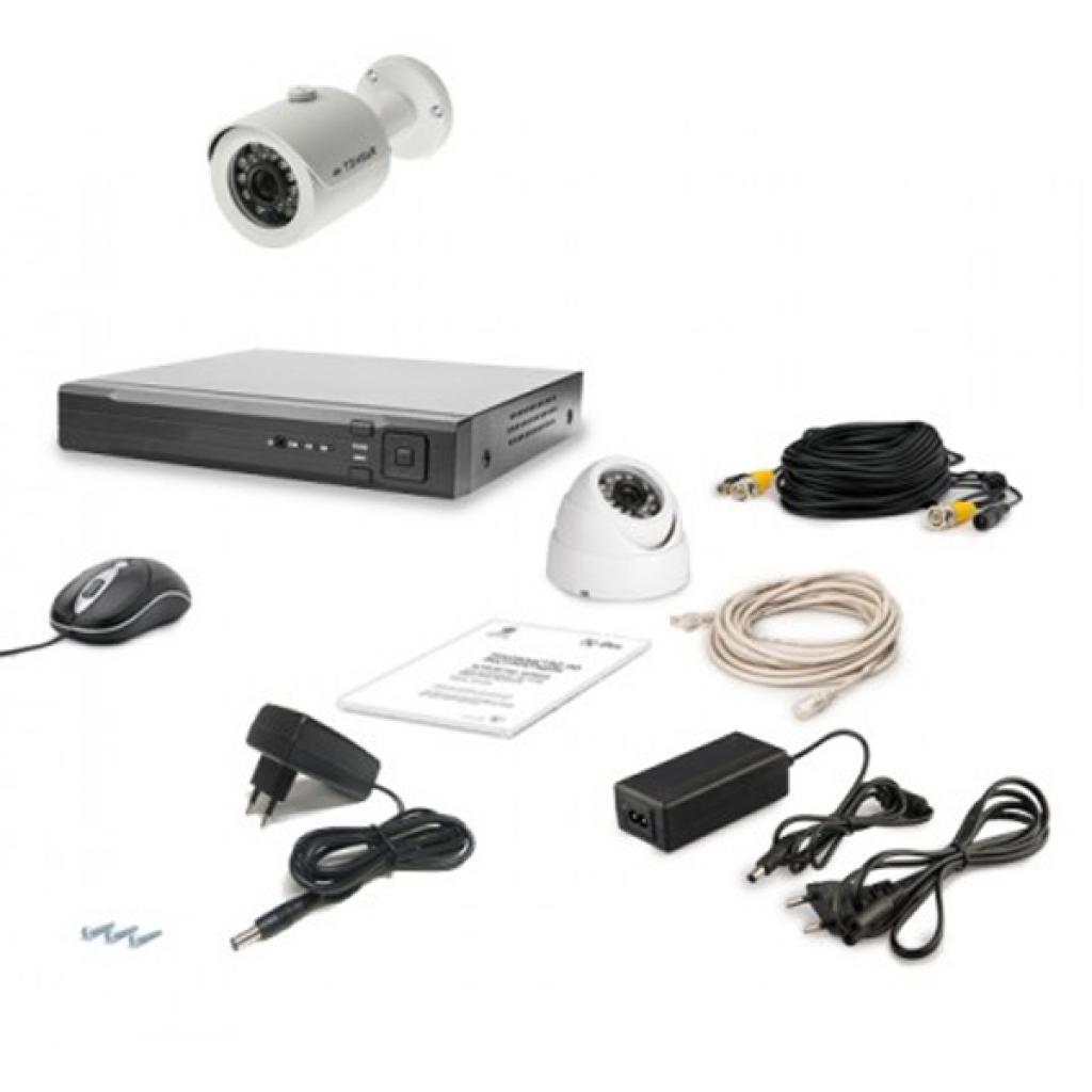 Комплект видеонаблюдения Tecsar AHD 2OUT LUX MIX (6636)