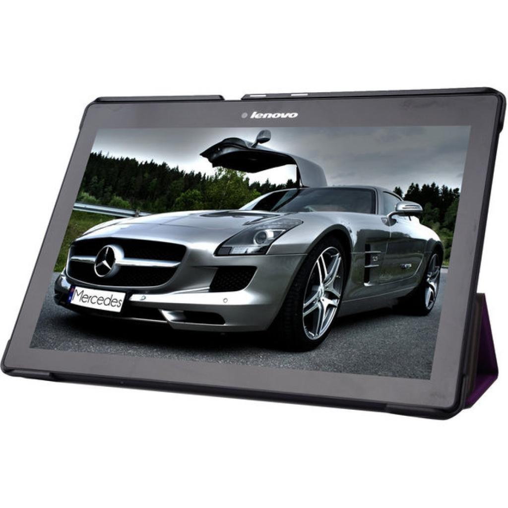 Чехол для планшета AirOn для Lenovo Tab 2 A10 purple (4822352773250) изображение 3