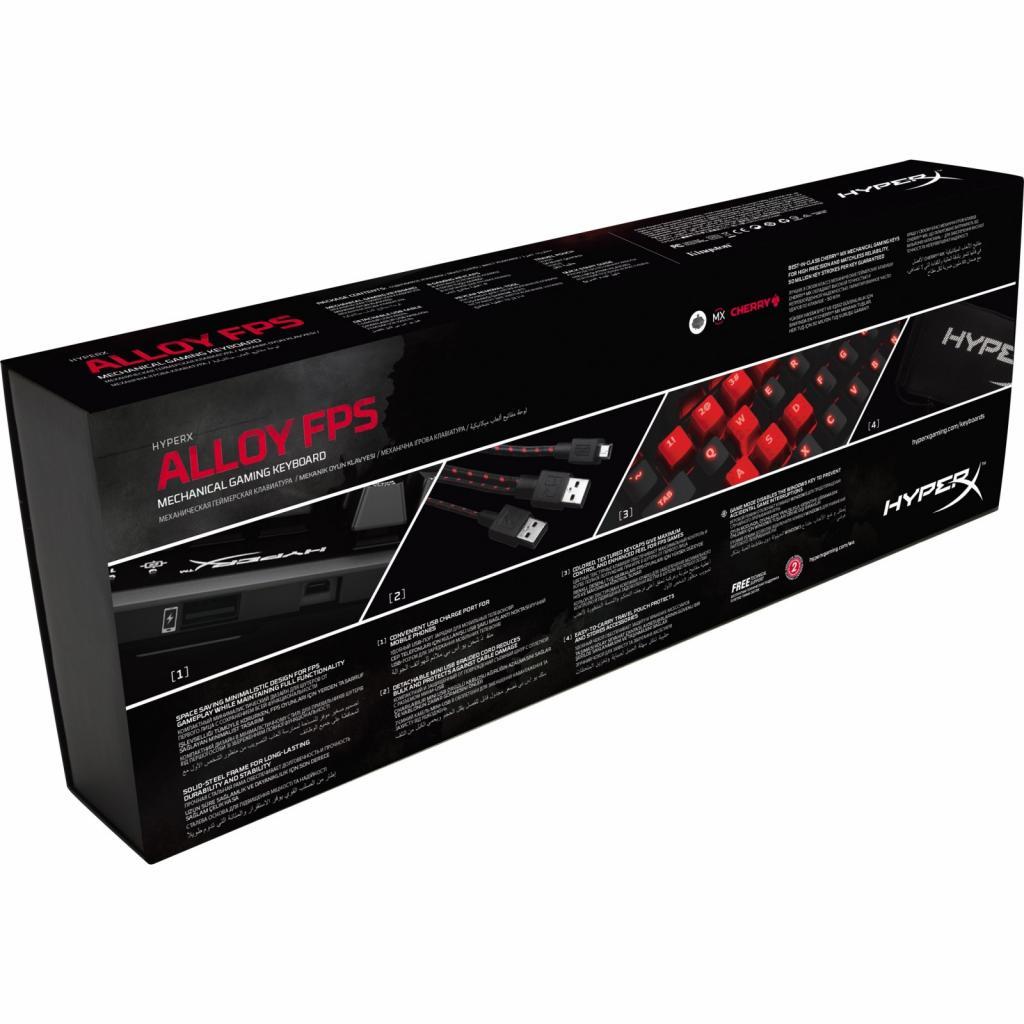Клавиатура HyperX Alloy FPS MX Red (HX-KB1RD1-RU/A5) изображение 6