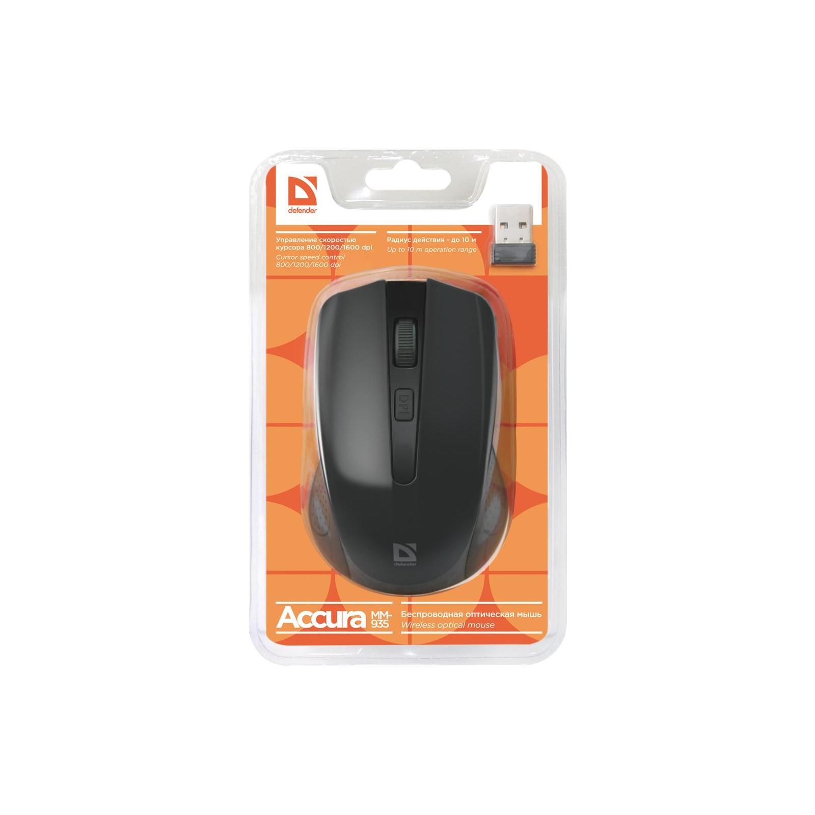 Мышка Defender Accura MM-935 Black (52935) изображение 4