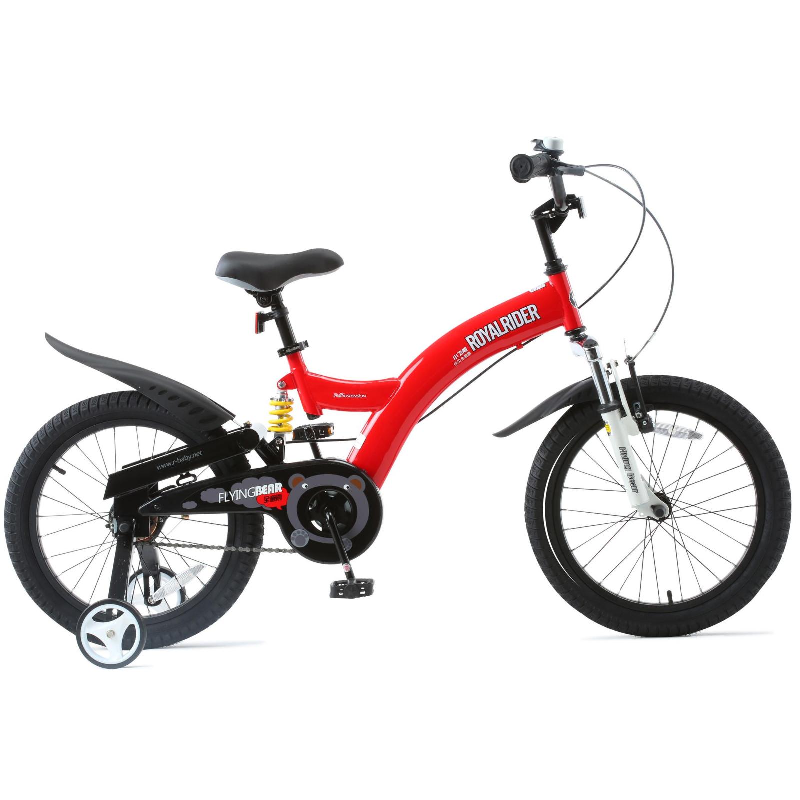 """Детский велосипед Royal Baby FLYBEAR 18"""", красный (RB18B-9-RED)"""