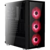 Корпус AeroCool PGS QUARTZ RED (4713105968934)