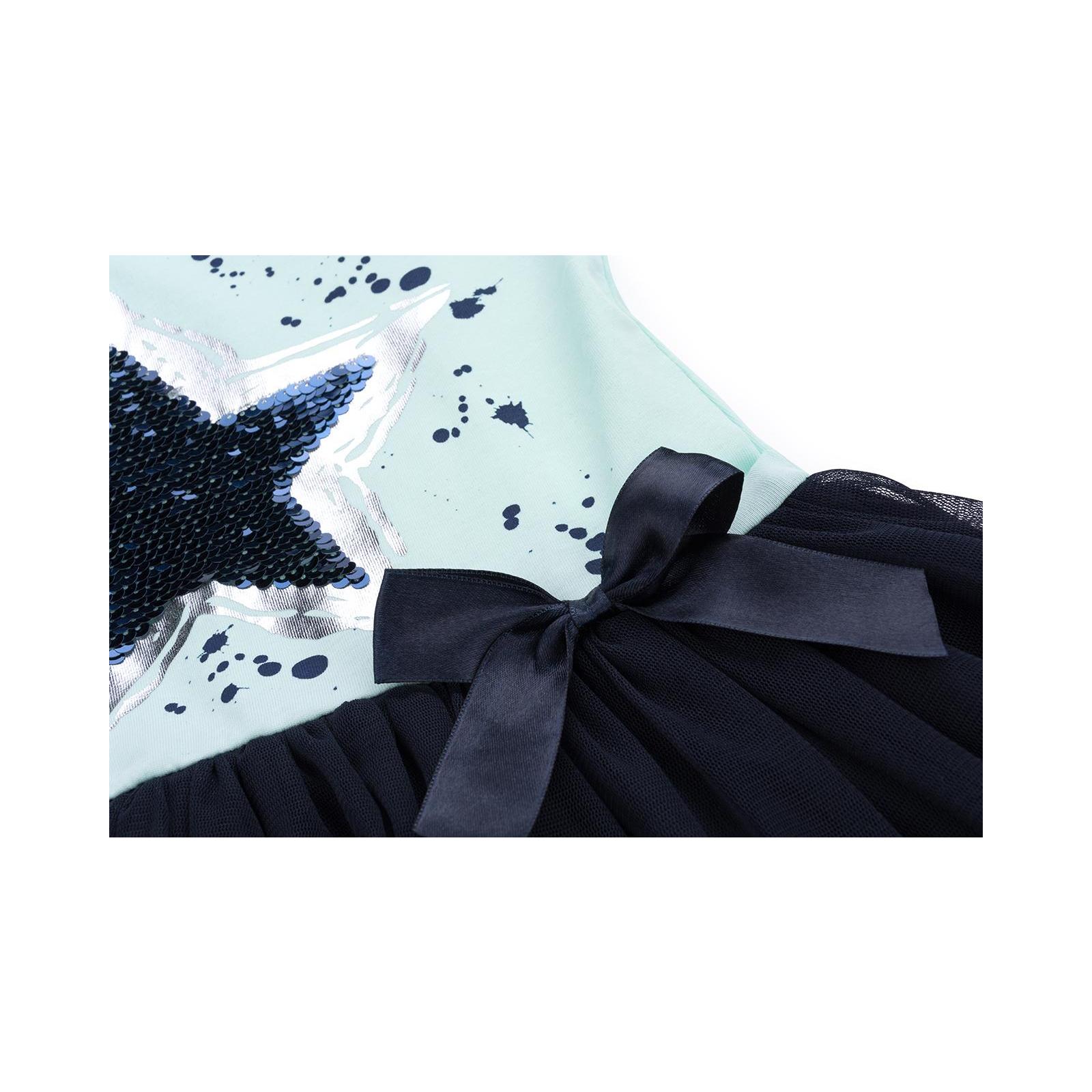 Платье Breeze со звездой-перевертышем (9777-128G-green) изображение 5