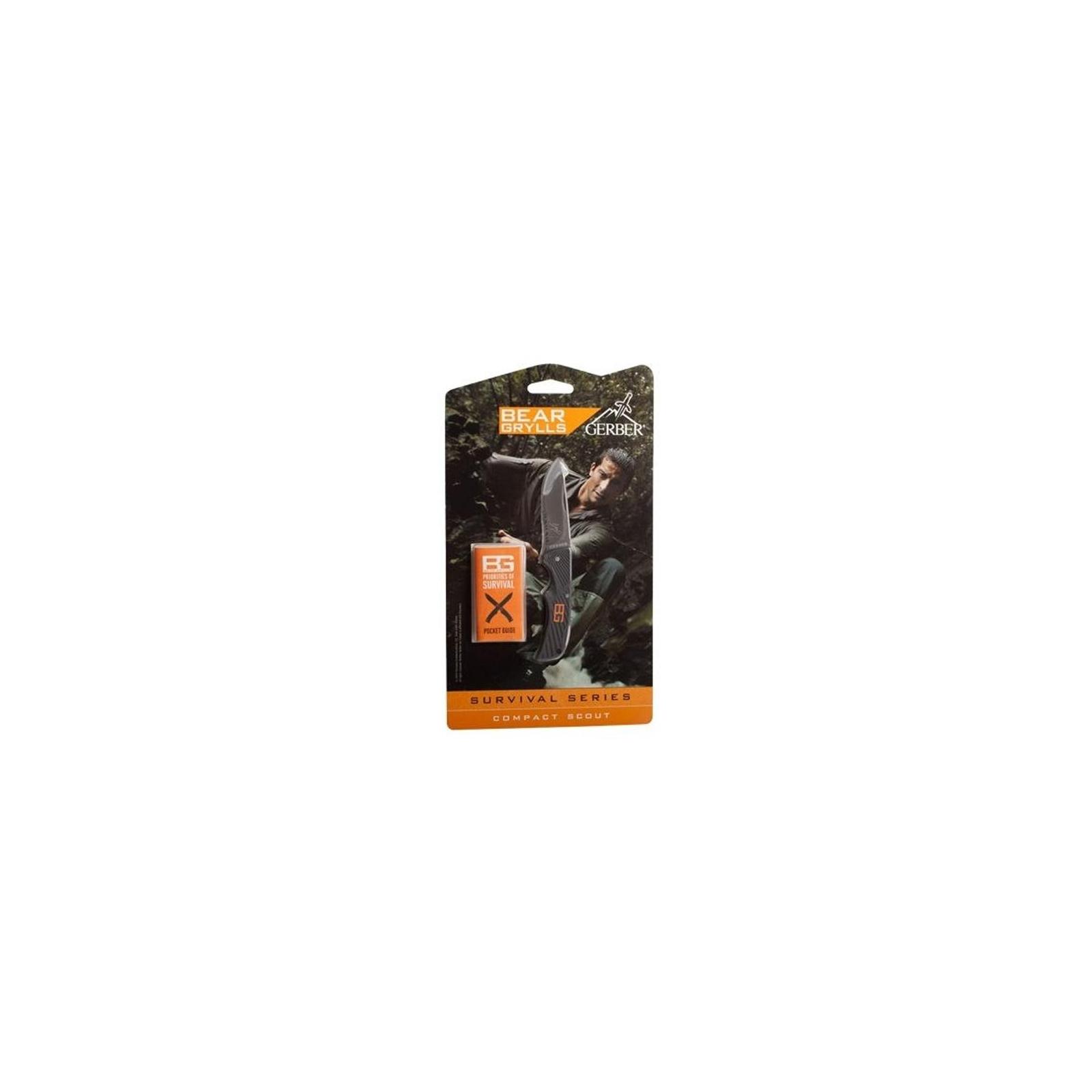 Нож Gerber Bear Grylls Compact Scout (31-000760) изображение 3