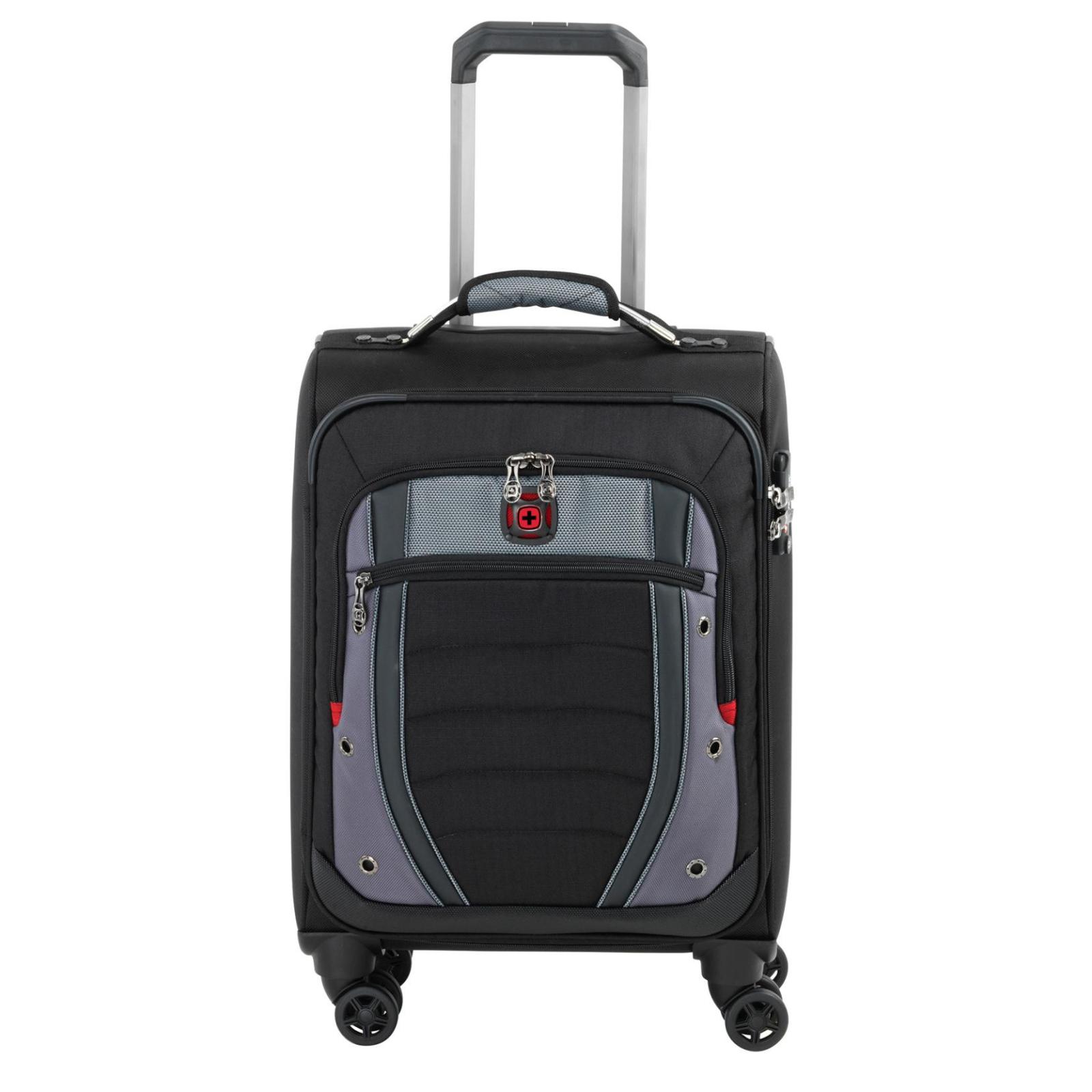 Чемодан Wenger Synergy, малый, 4 колеса (чёрный) (604377)