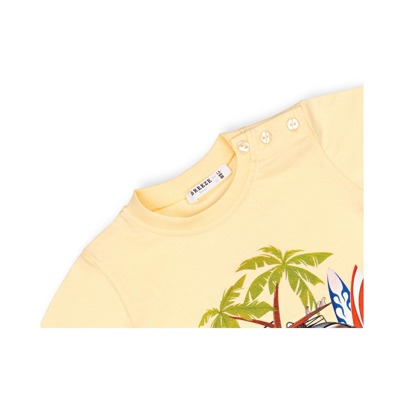 Набор детской одежды Breeze с машинкой (10940-110B-yellow) изображение 7