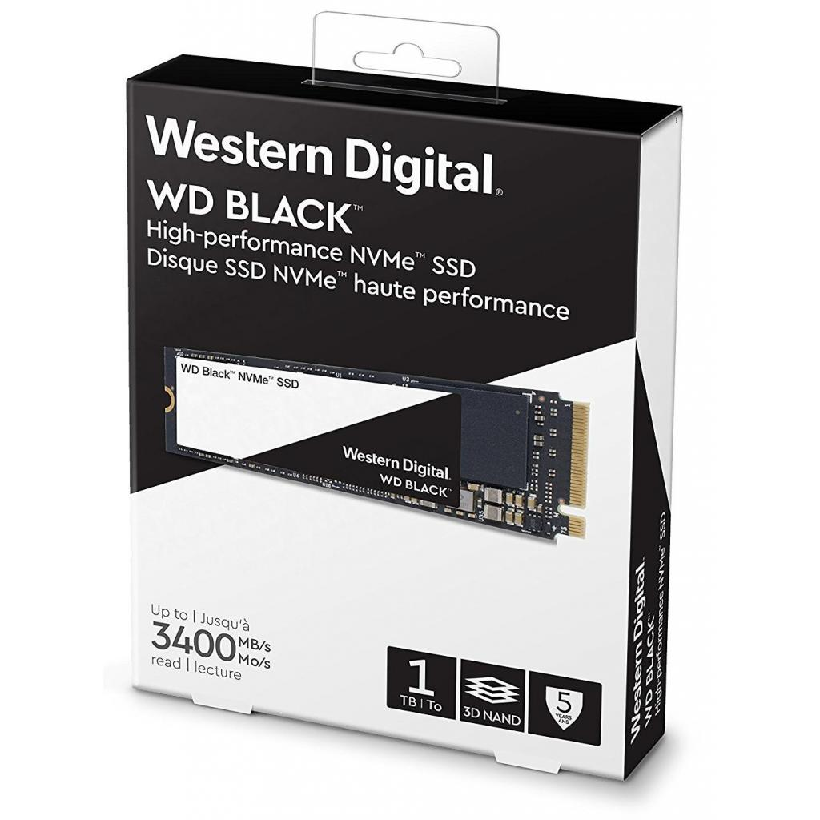Накопитель SSD M.2 2280 1TB Western Digital (WDS100T2X0C) изображение 3