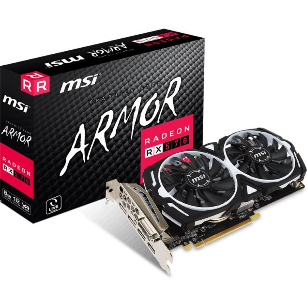 Видеокарта MSI Radeon RX 570 8192Mb ARMOR (RX 570 ARMOR 8G)