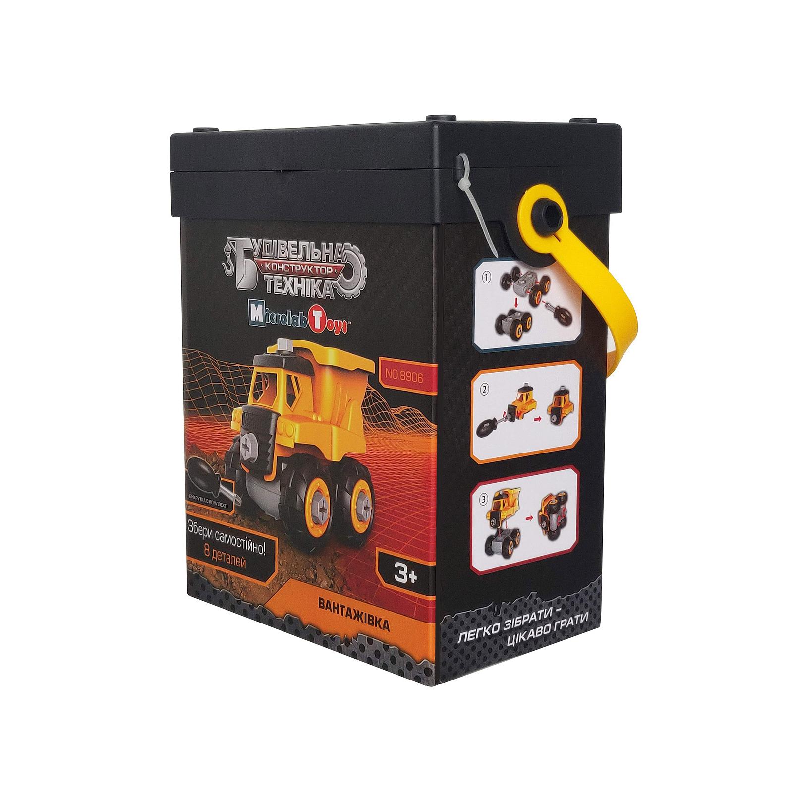 Конструктор Microlab Toys Строительная техника - грузовик (MT8906) изображение 3