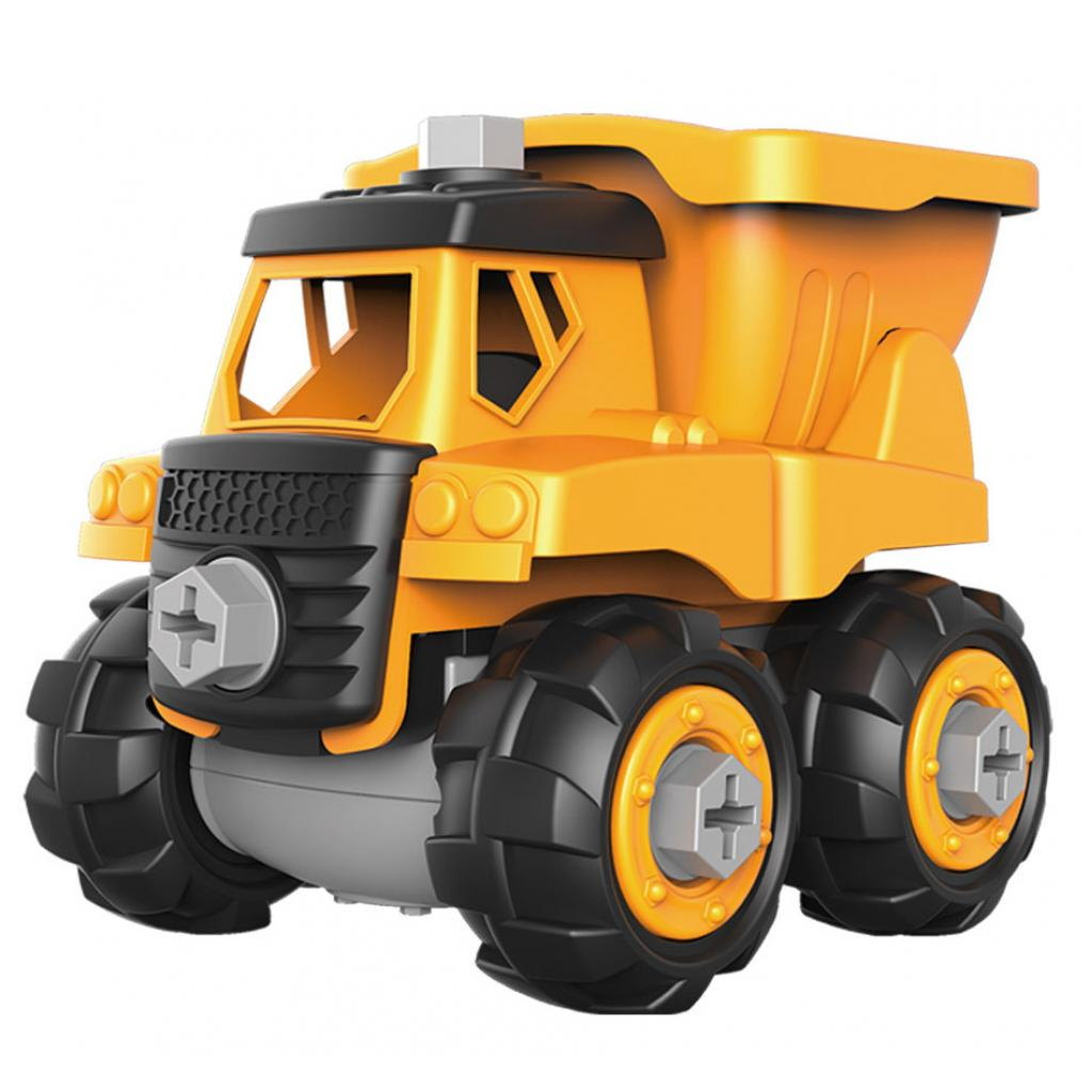Конструктор Microlab Toys Строительная техника - грузовик (MT8906)