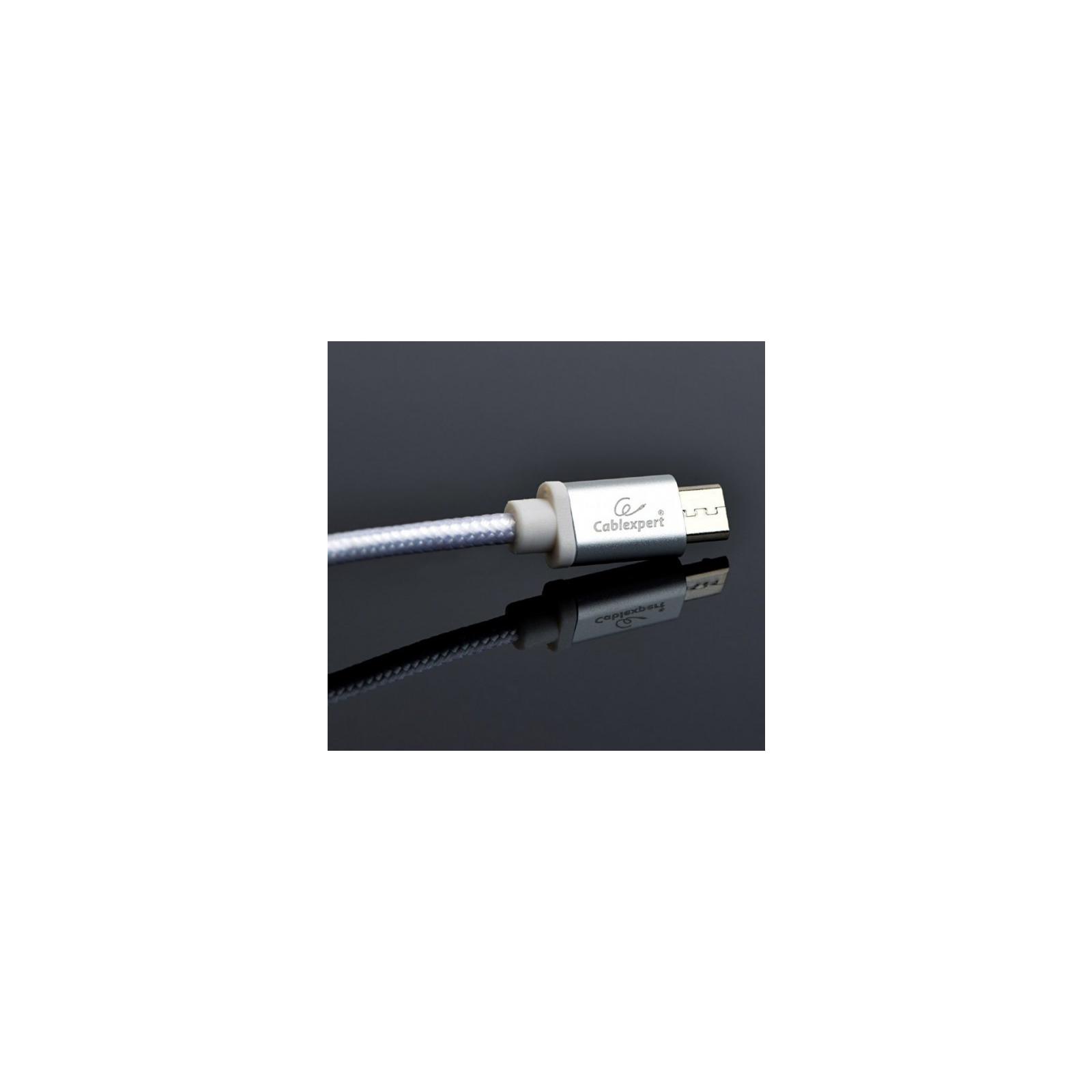 Дата кабель USB 2.0 AM to Micro 5P 1.8m Cablexpert (CCB-mUSB2B-AMBM-6-G) изображение 2