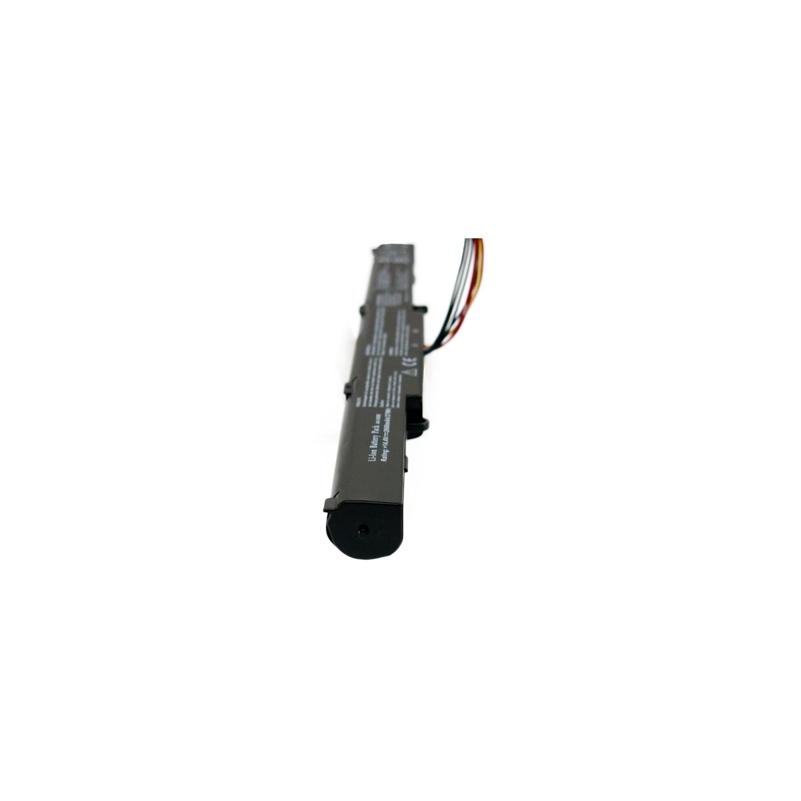 Аккумулятор для ноутбука Asus A41-X550E 14.8V, 2600mAh Extradigital (BNA3999) изображение 4