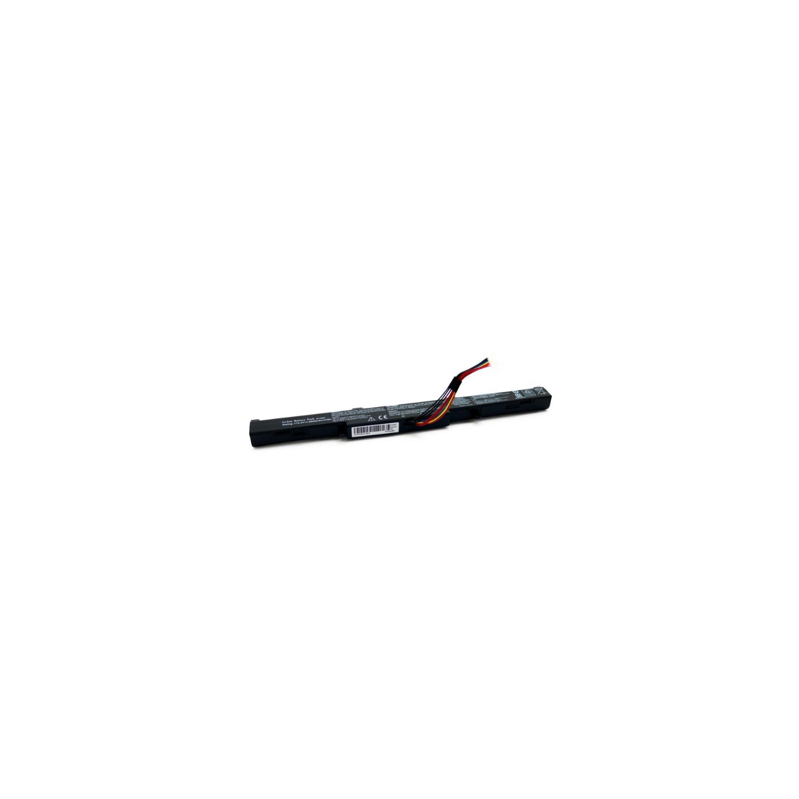 Аккумулятор для ноутбука Asus A41-X550E 14.8V, 2600mAh Extradigital (BNA3999)