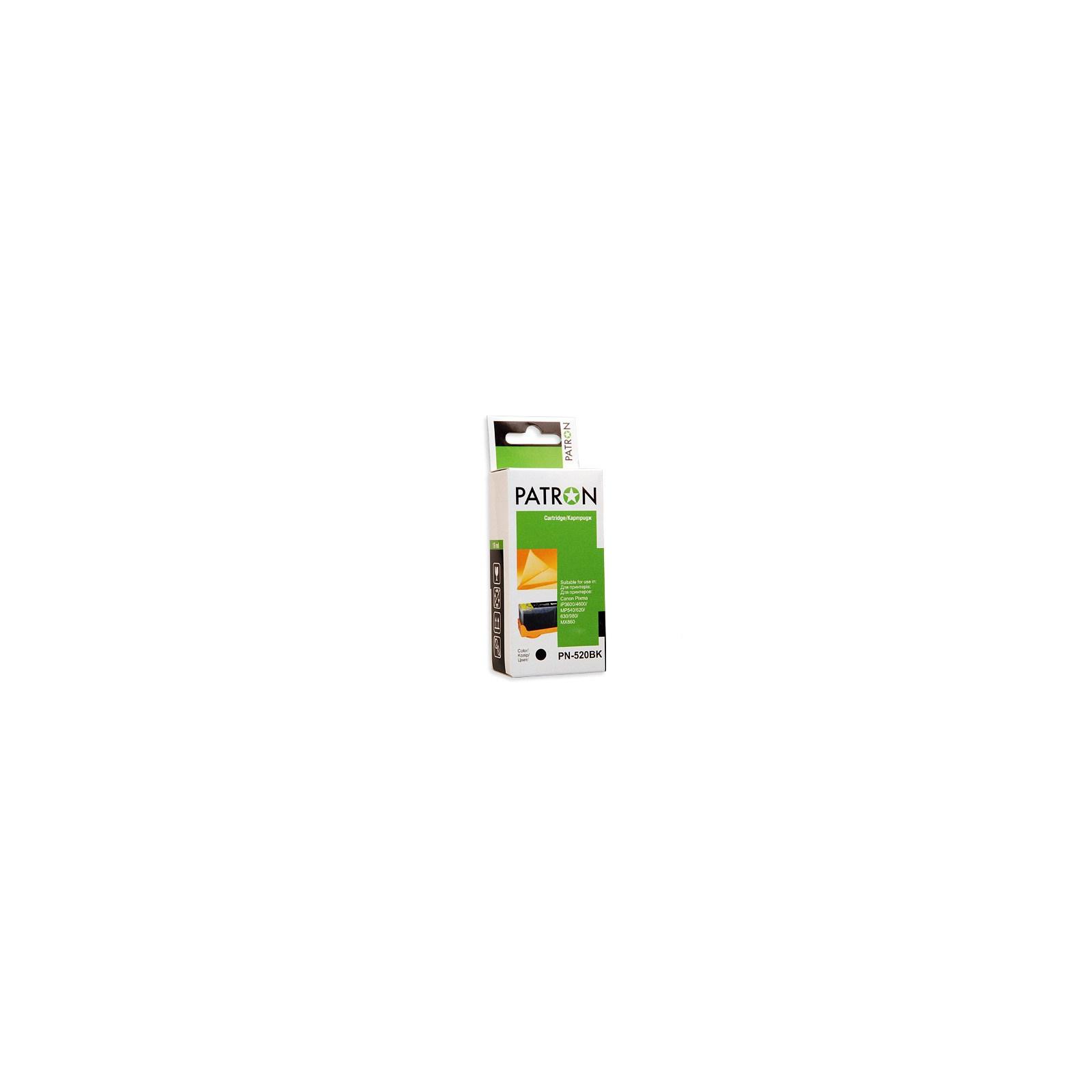 Картридж PATRON CANON PGI-520 (PN-520BK) (CI-CAN-PGI-520-B-PN)