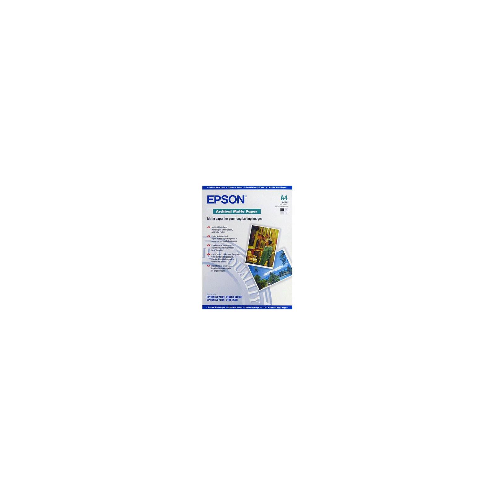 Бумага Epson A4 Archival Matte Paper (C13S041342)