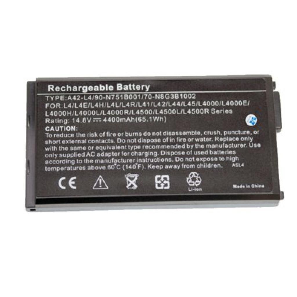 Аккумулятор для ноутбука ASUS A42-L4 Drobak (100342)