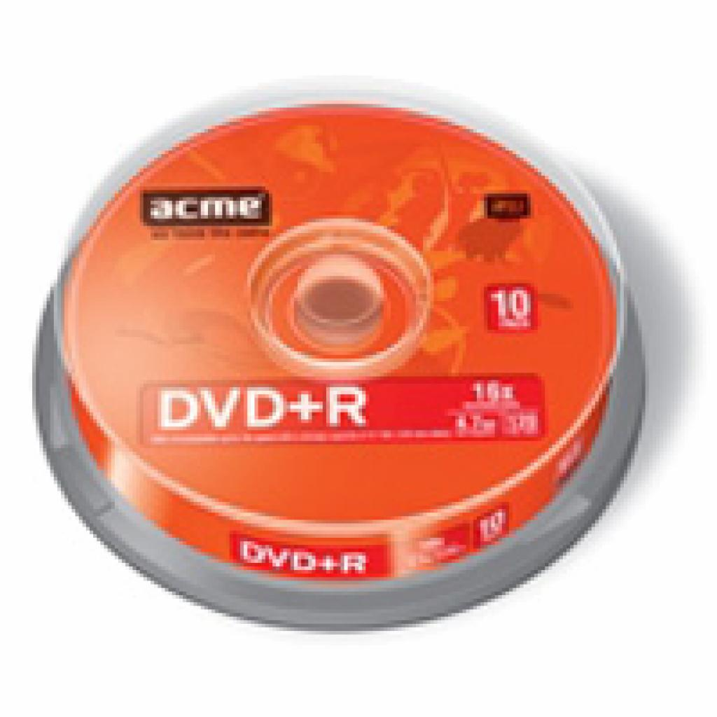 Диск DVD ACME 4.7Gb 16x Cake box 10шт (4770070858271)