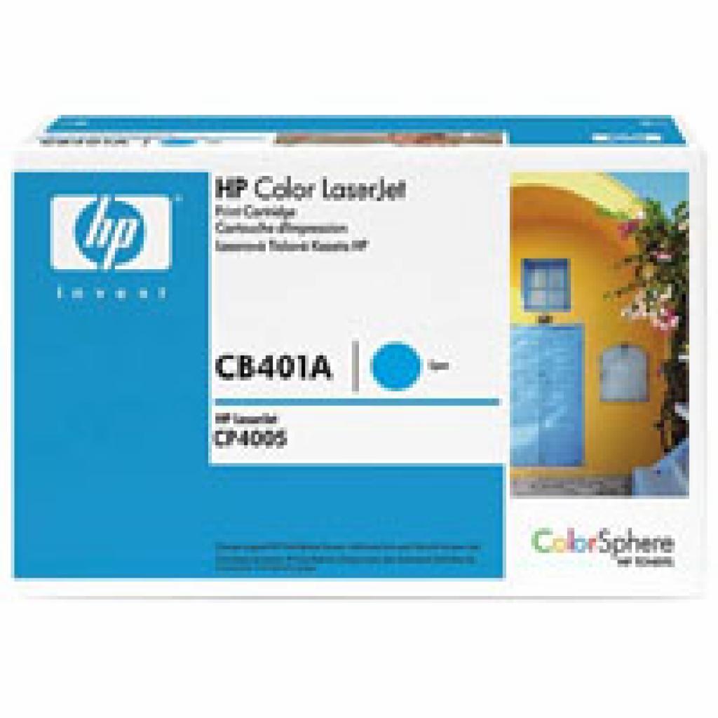 Картридж HP CLJ CP4005 series, cyan (CB401A)