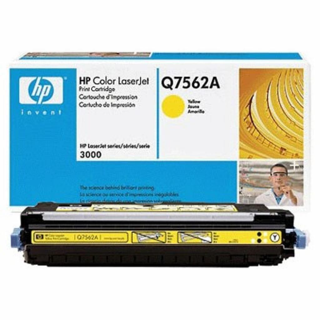 Картридж CLJ  314A для 2700/3000 yellow HP (Q7562A)