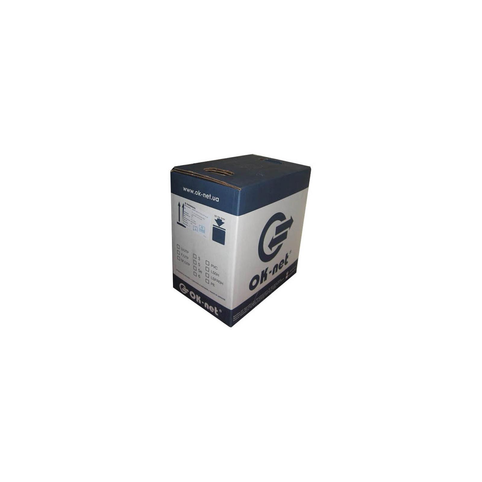 Кабель сетевой FTP 305м OK-Net (КППЭ-ВП (100) 4*2*0,51) изображение 2
