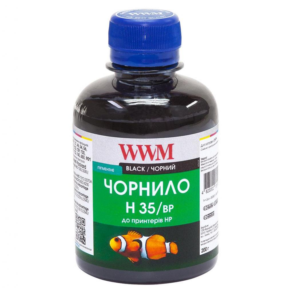 Чернила WWM HP № 21/121/129/130/132/140 BlackPg (H35/BP)