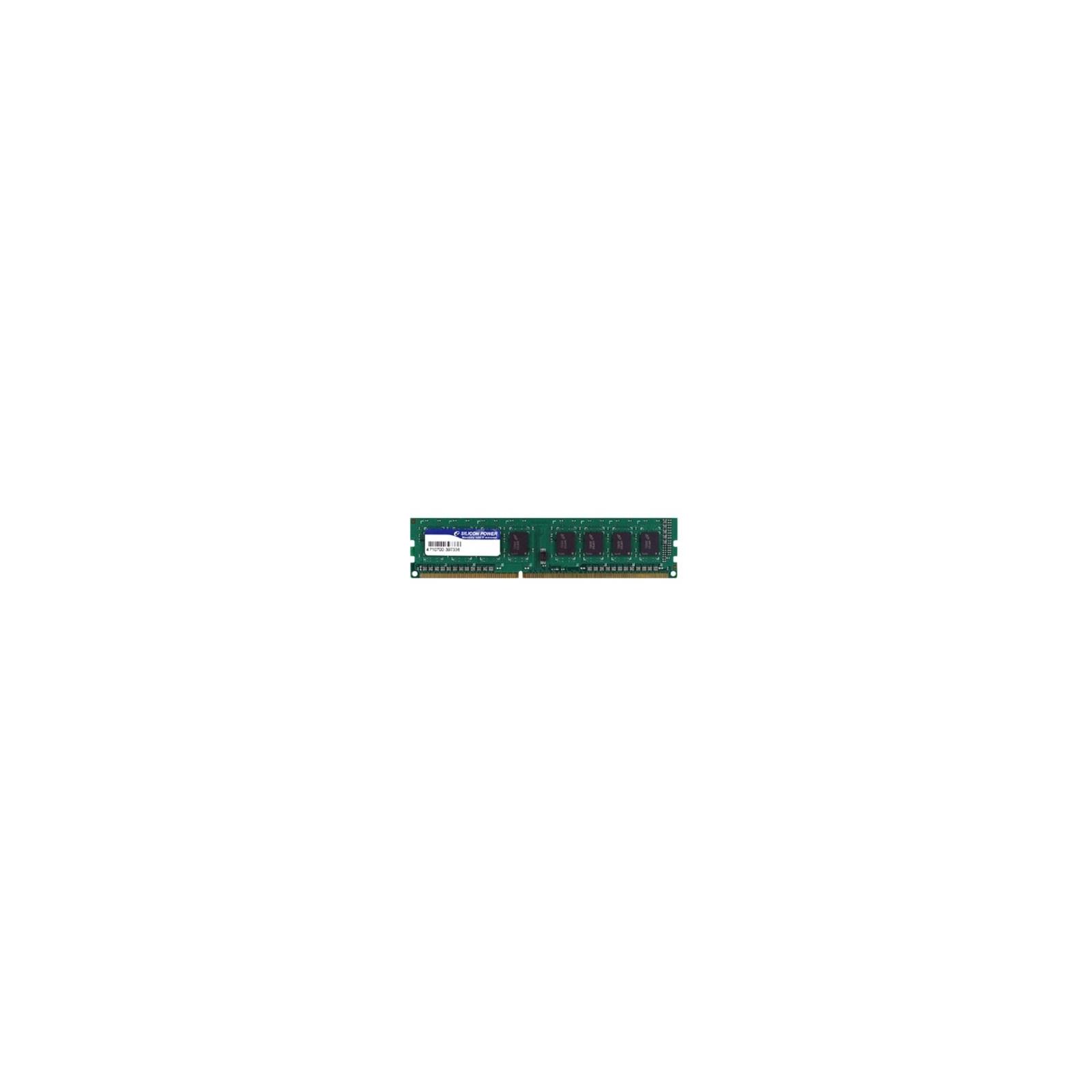 Модуль памяти для компьютера DDR3 8GB 1600 MHz Silicon Power (SP008GBLTU160N01 / SP008GBLTU160N02)