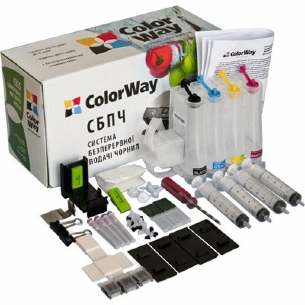 СНПЧ ColorWay HP №121/122/650+демпфер (H650CN-4.5NC)