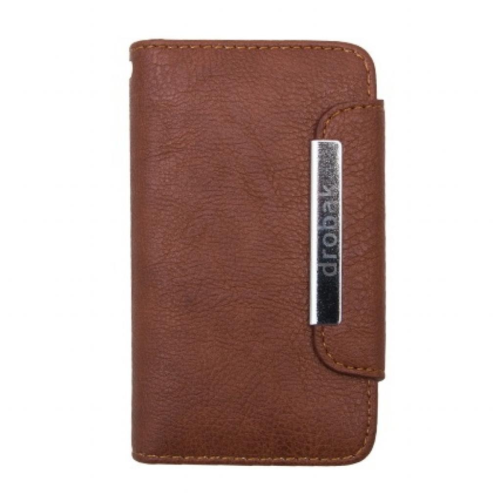 Чехол для моб. телефона Drobak для HTC Desire V /Fresh Style/Brown (218849)