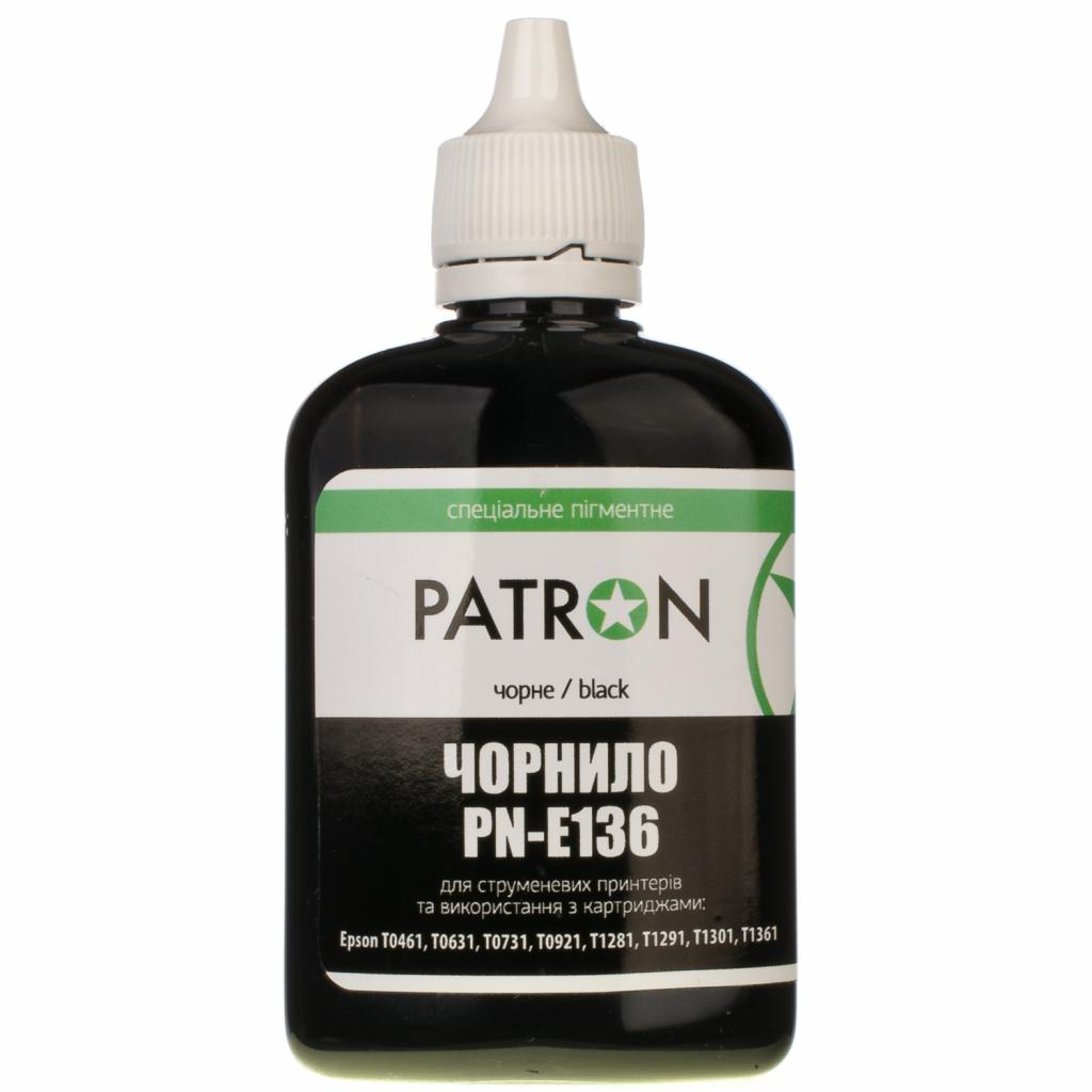 Чернила PATRON EPSON T1361(K101) BLACK SOFTpigment 90г (I-PN-ET136-090-B-SP) изображение 2