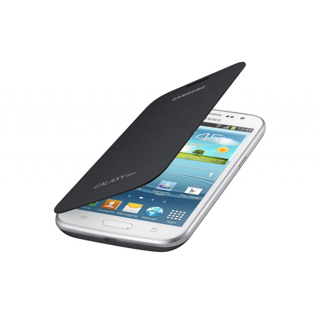 Чехол для моб. телефона Samsung I8552/Gray/Flip Cover (EF-FI855BSEGWW) изображение 2