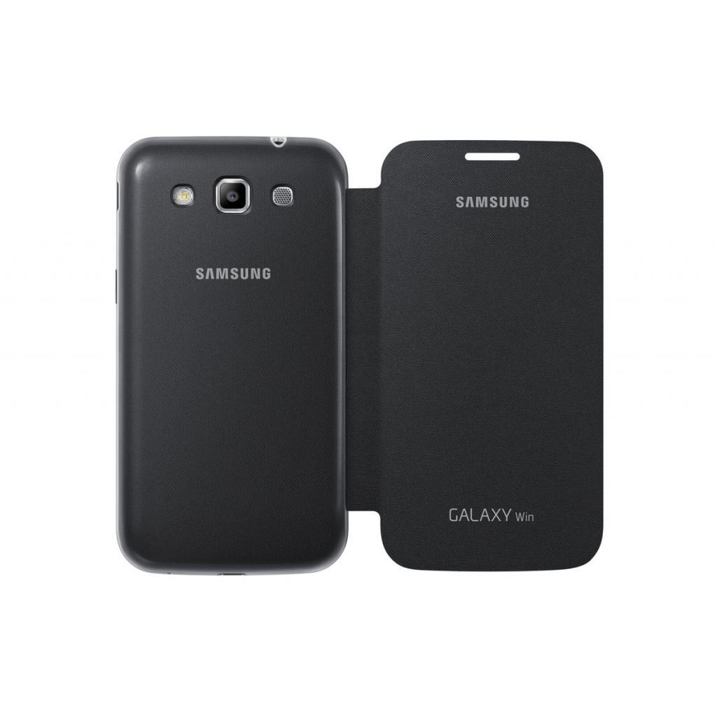 Чехол для моб. телефона Samsung I8552/Gray/Flip Cover (EF-FI855BSEGWW) изображение 4