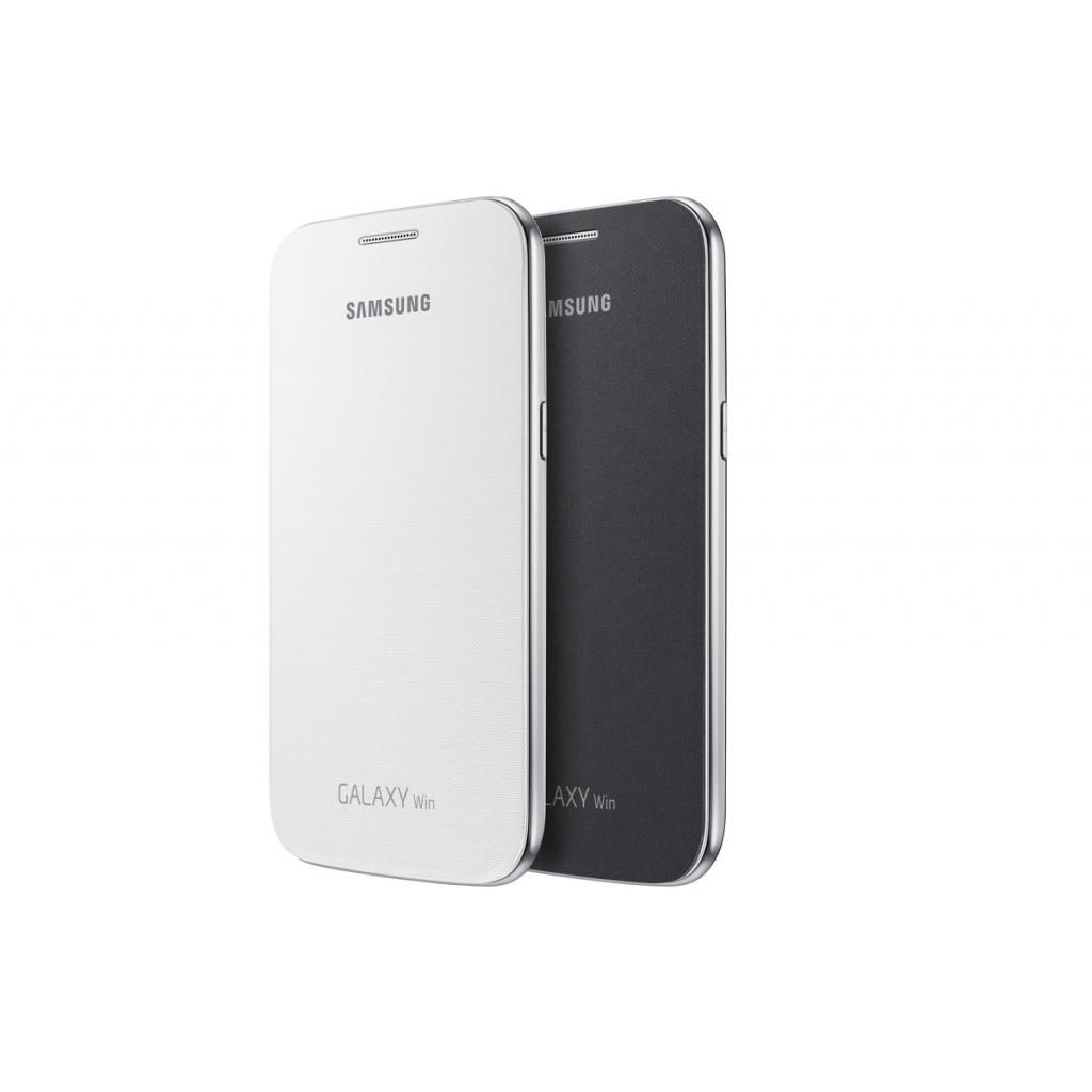 Чехол для моб. телефона Samsung I8552/Gray/Flip Cover (EF-FI855BSEGWW) изображение 5