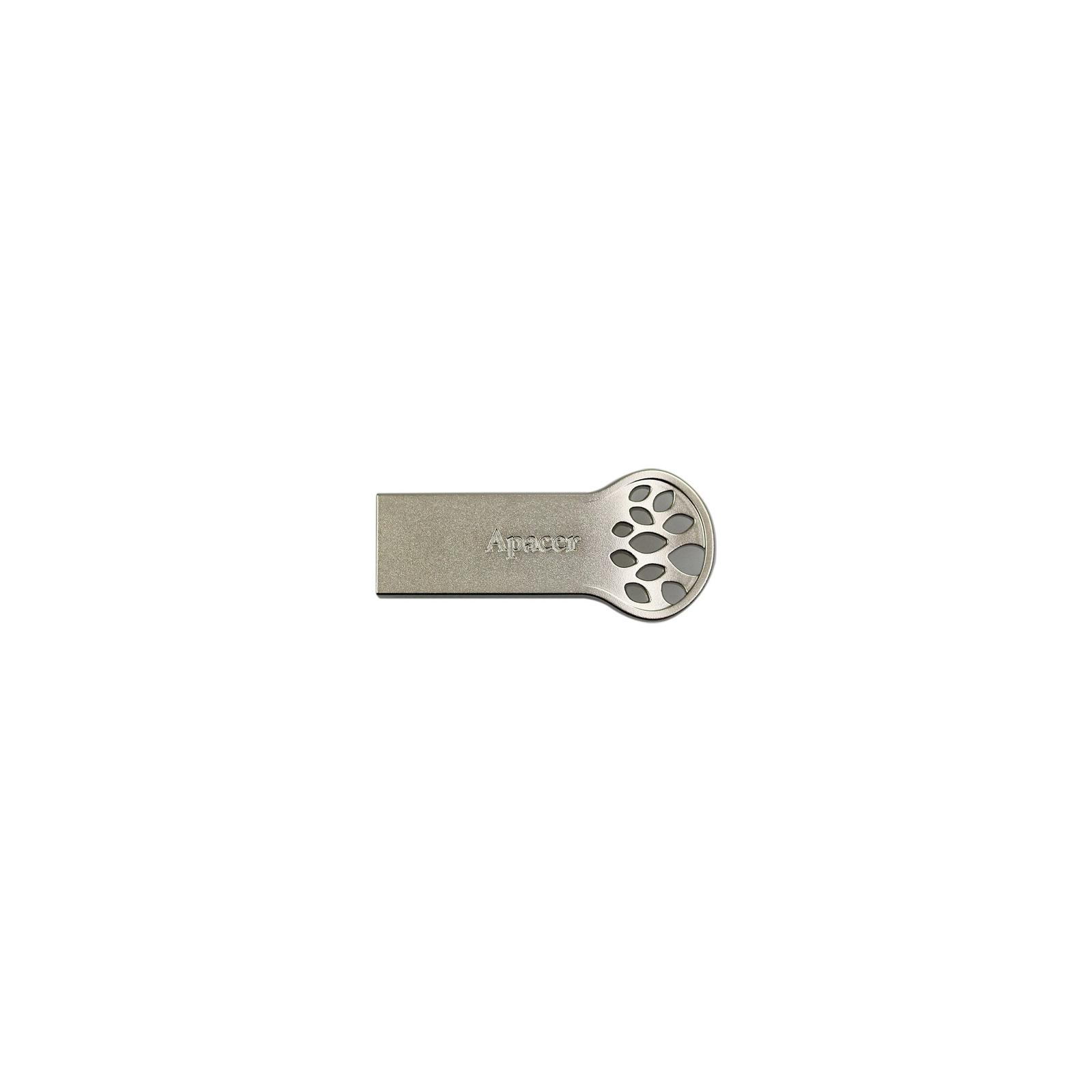 USB флеш накопитель 16GB AH135 Silver RP USB2.0 Apacer (AP16GAH135S-1)