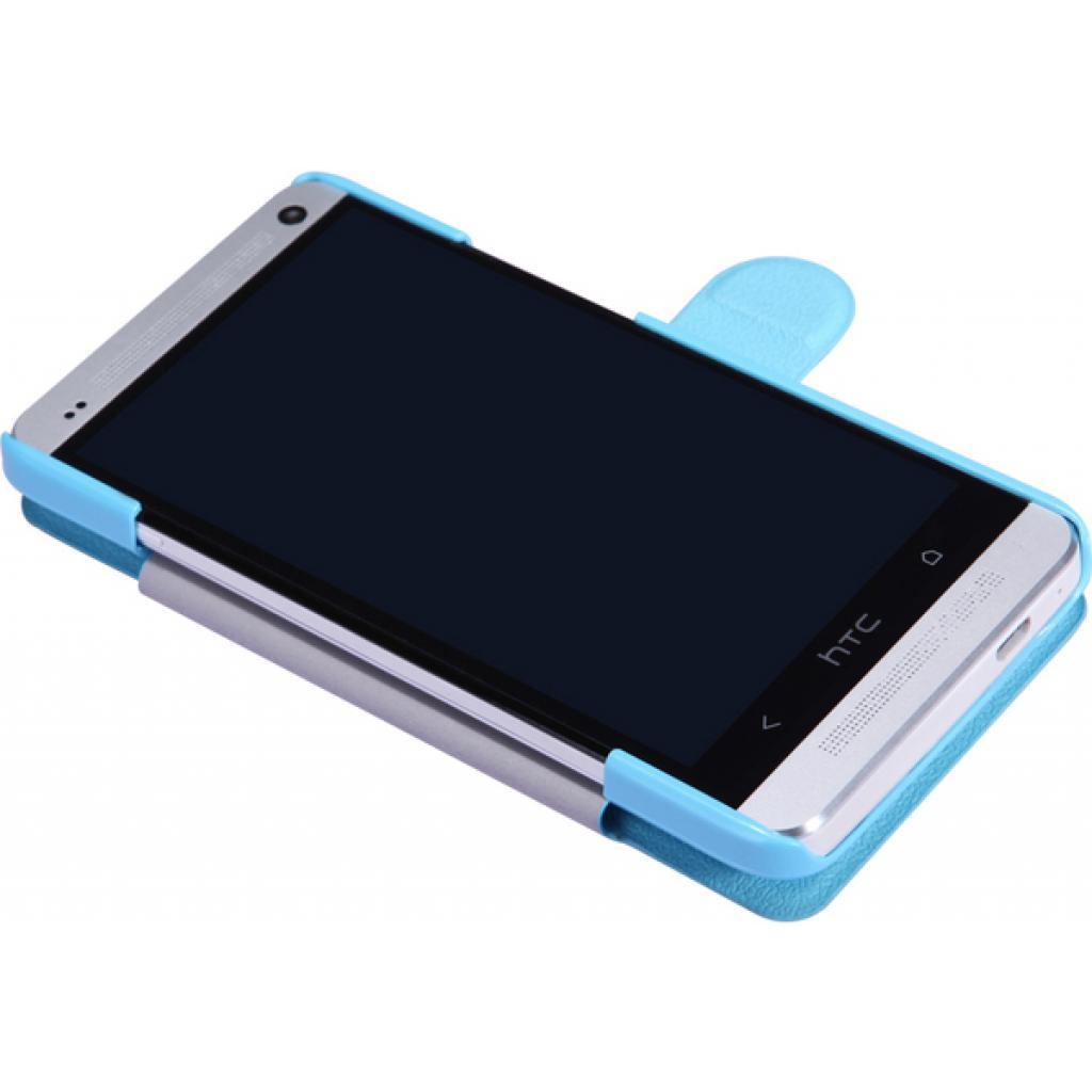 Чехол для моб. телефона NILLKIN для HTC ONE Dual 802w-Fresh/ Leather/Blue (6076837) изображение 3