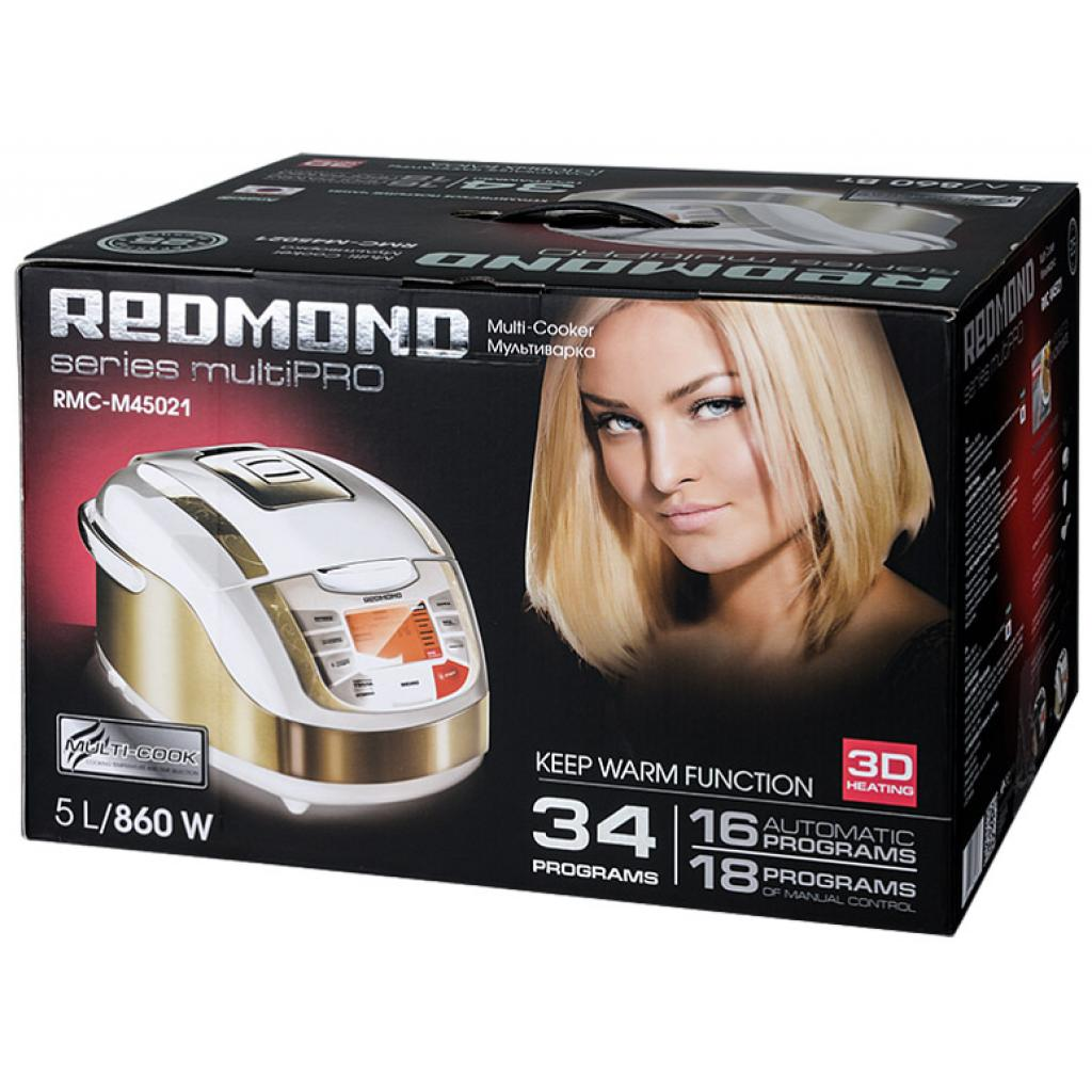 Мультиварка REDMOND RMC-M45021 white изображение 10