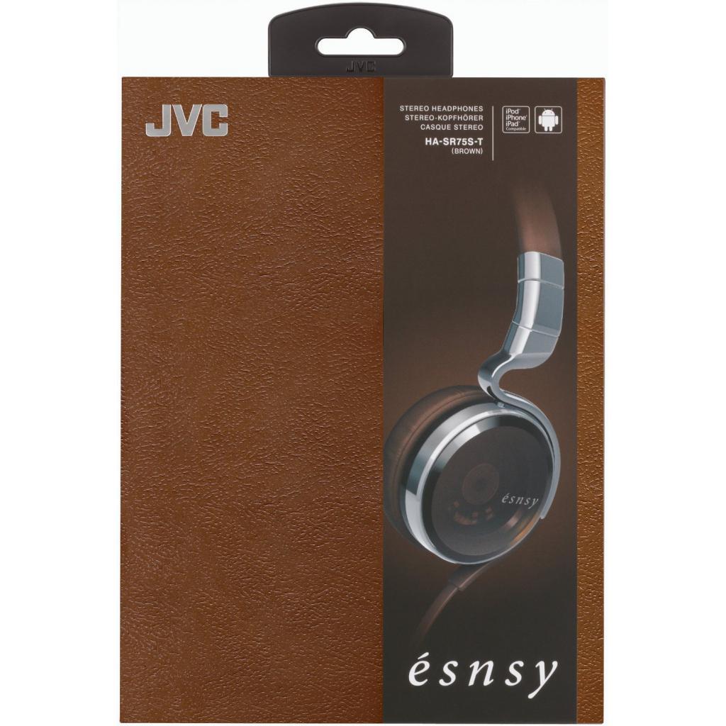 Наушники JVC Esnsy HA-SR75S Bronze (HA-SR75S-T-E) изображение 6