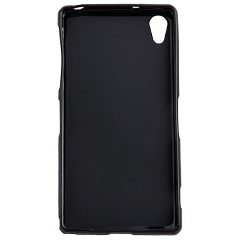 Чехол для моб. телефона для Sony Xperia Z2 (Black) Elastic PU Drobak (212293) изображение 2