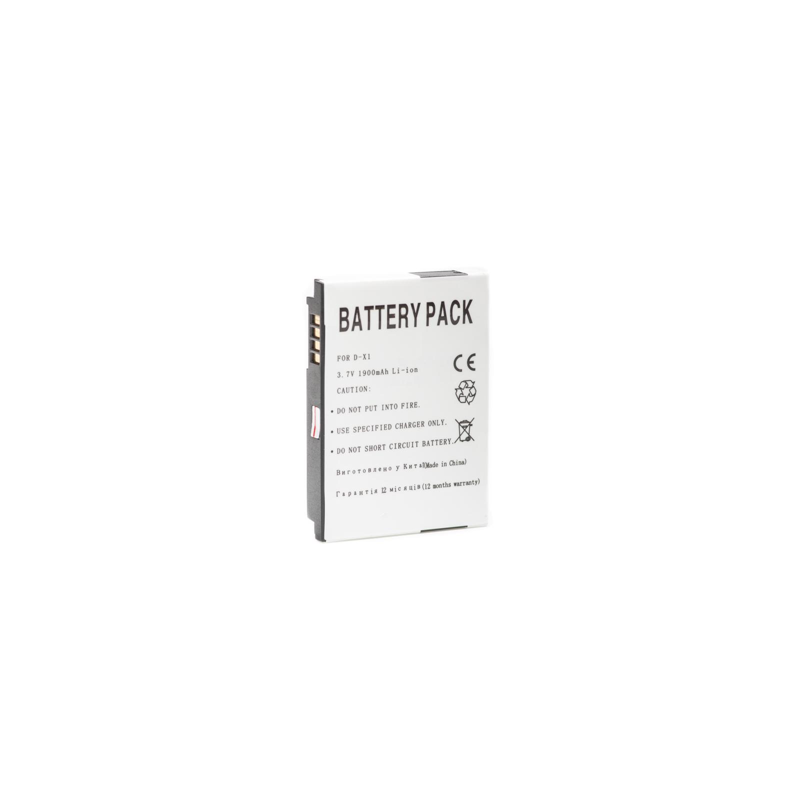 Аккумуляторная батарея PowerPlant Blackberry D-X1 (DV00DV6066) изображение 2