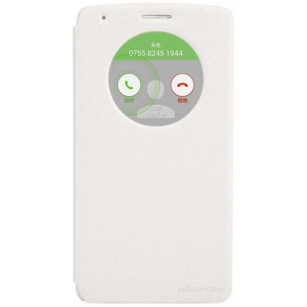 Чехол для моб. телефона NILLKIN для LG Optimus GIII /Spark/ Leather/White (6154943)