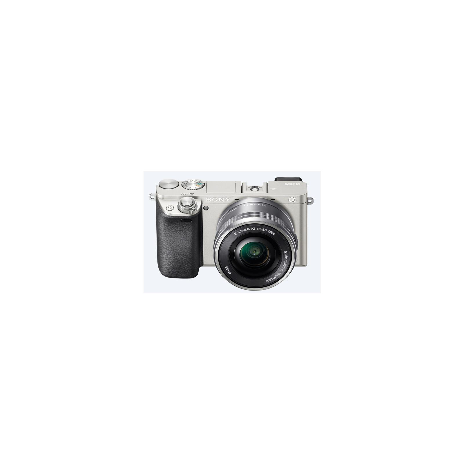 Цифровой фотоаппарат SONY Alpha 6000 kit 16-50mm Silver (ILCE6000LS.CEC) изображение 3