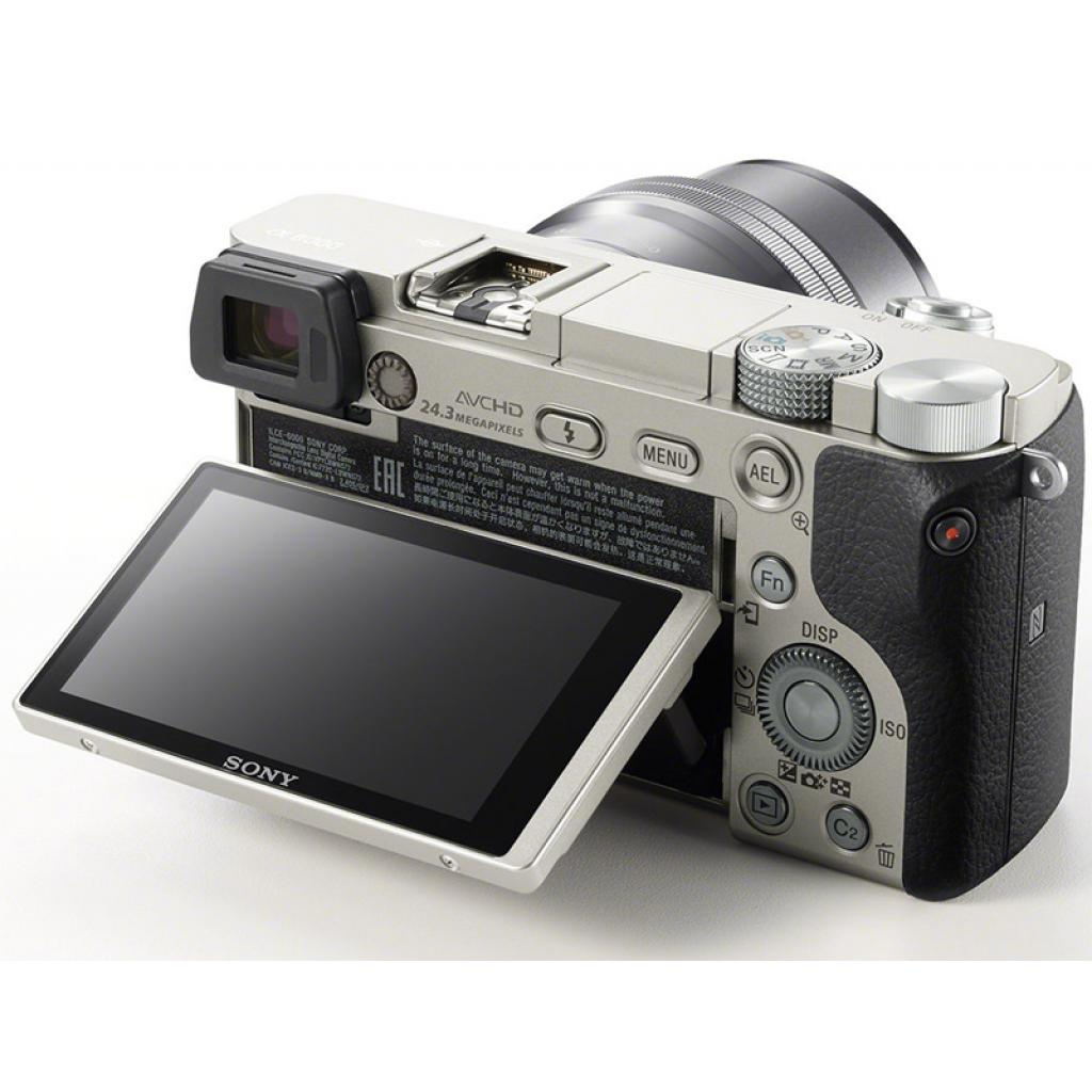 Цифровой фотоаппарат SONY Alpha 6000 kit 16-50mm Silver (ILCE6000LS.CEC) изображение 4