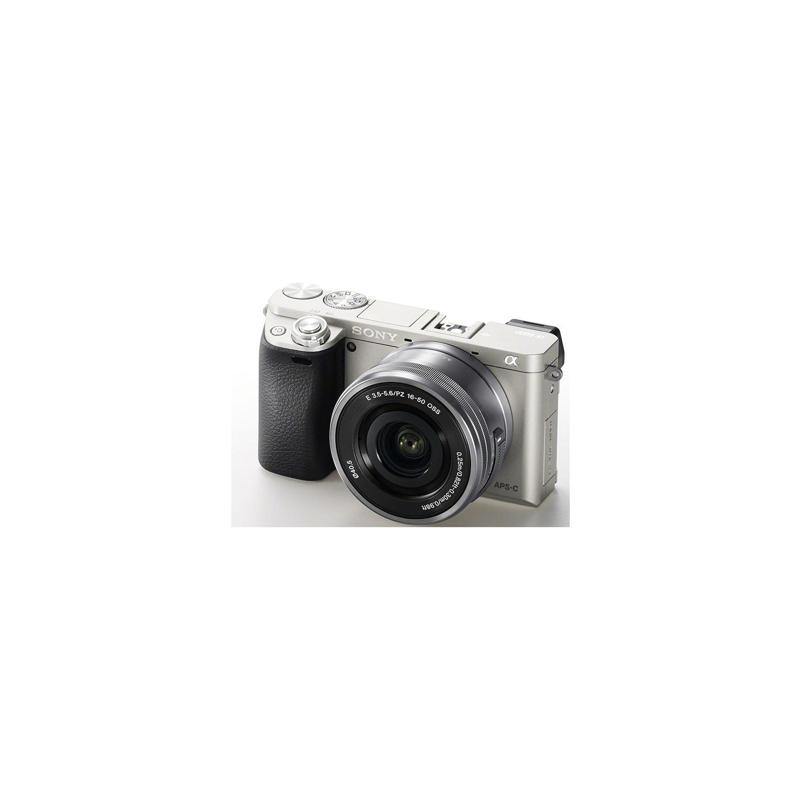 Цифровой фотоаппарат SONY Alpha 6000 kit 16-50mm Silver (ILCE6000LS.CEC) изображение 5