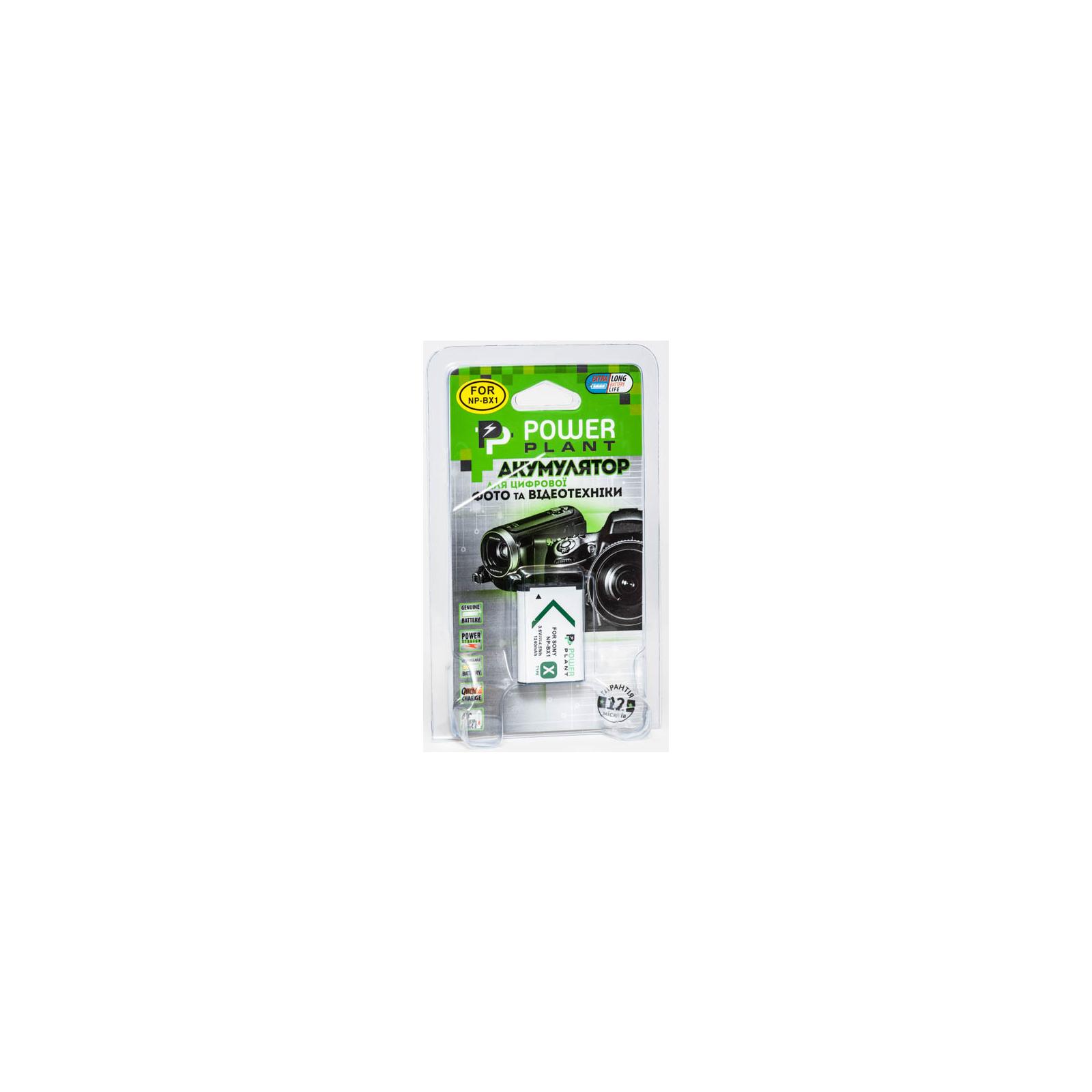 Аккумулятор к фото/видео PowerPlant Sony NP-BX1 (DV00DV1308) изображение 3