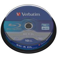 Диск BD Verbatim DL 50Gb 6x Cacke 10шт (43746)