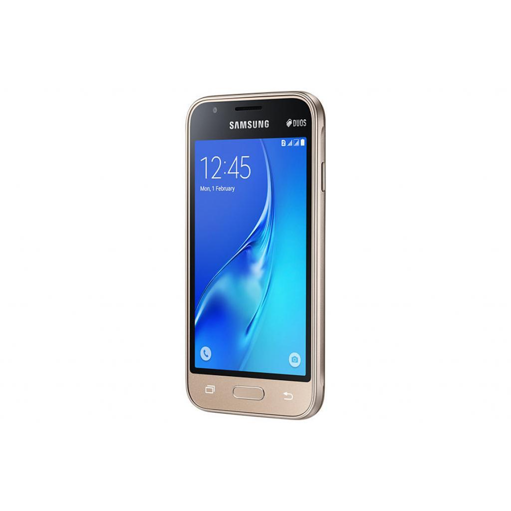 Мобильный телефон Samsung SM-J105H (Galaxy J1 Duos mini) Gold (SM-J105HZDDSEK) изображение 5