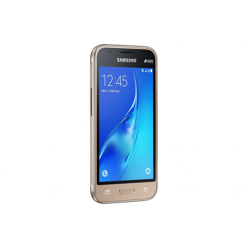 Мобильный телефон Samsung SM-J105H (Galaxy J1 Duos mini) Gold (SM-J105HZDDSEK) изображение 6